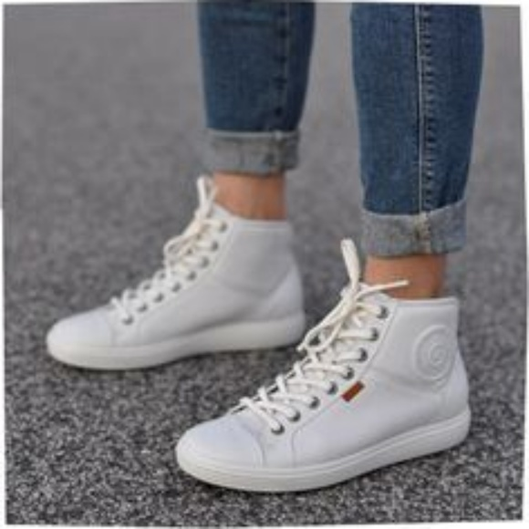 Ecco Shoes | Vii Soft High Top Sneakers